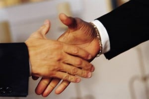 handshake on best factoring rates